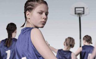 Girls ready for basketball