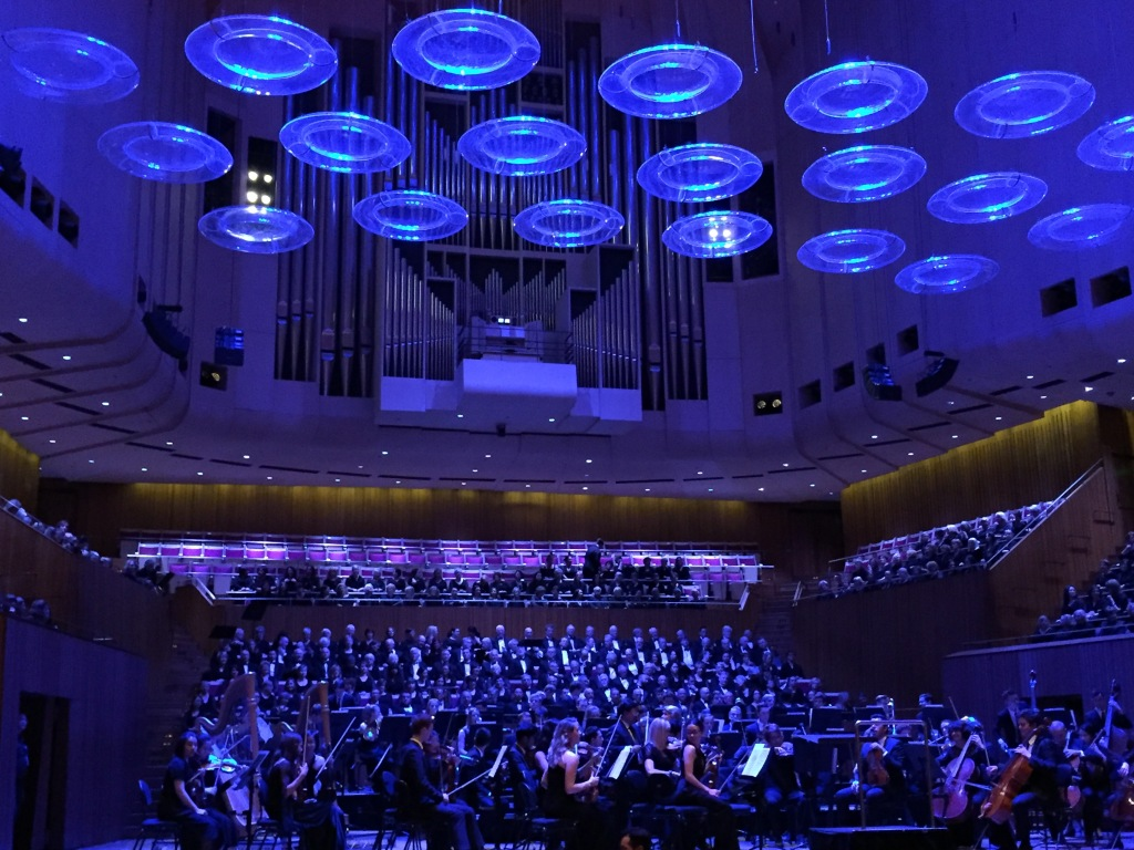 Live performance at Sydney Opera House. Photo ArtsHub.