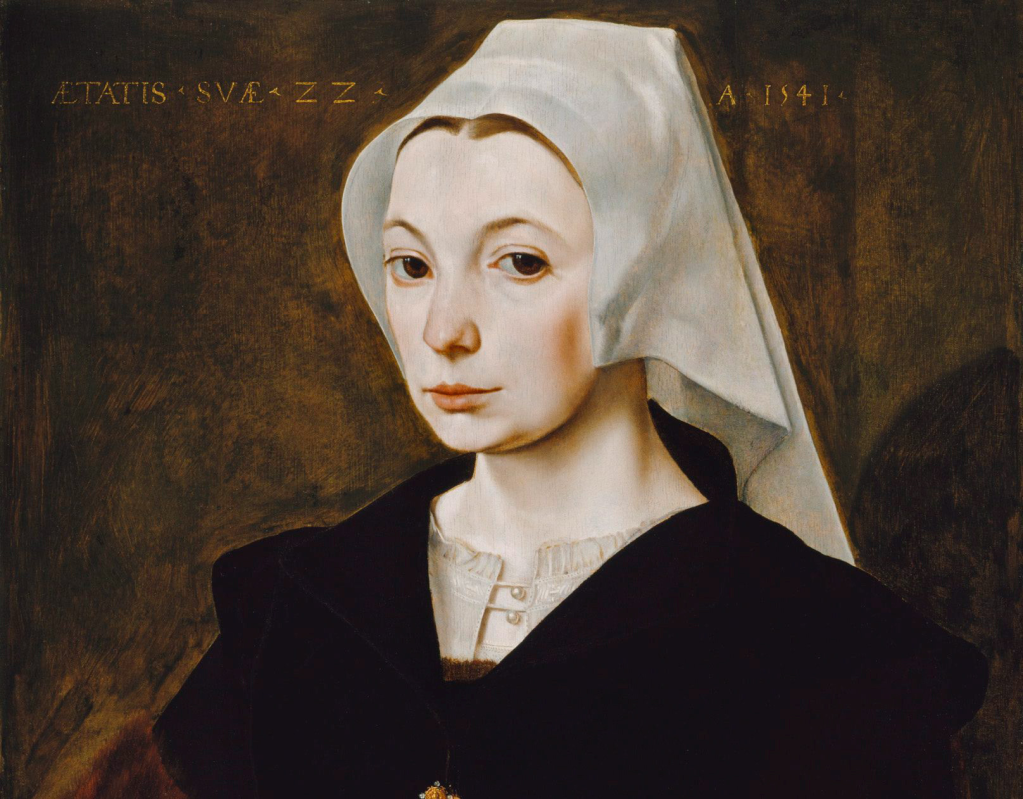 The Master of the 1540s 'Portrait of a young woman.' Photo supplied by AGNSW.