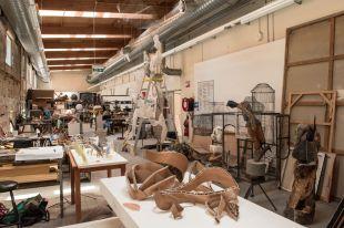 NAS Sculpture Studio.