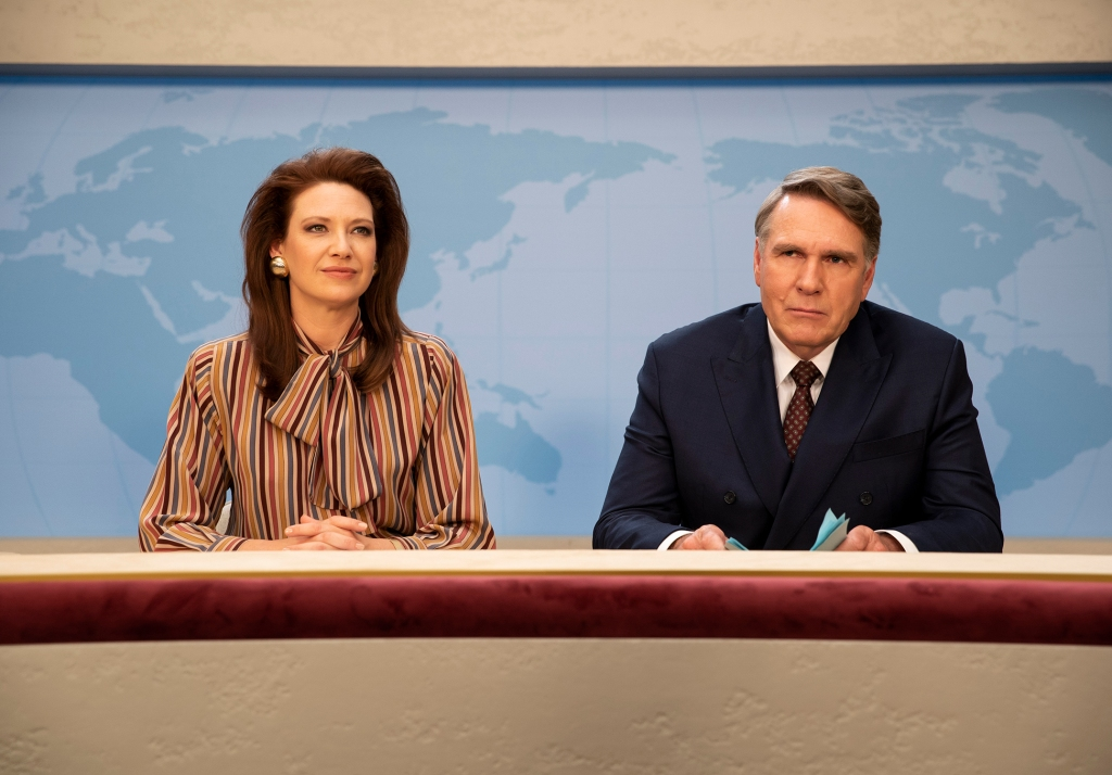 Anna Torv and Robert Taylor in The Newsreader, written by Micahel Lucas