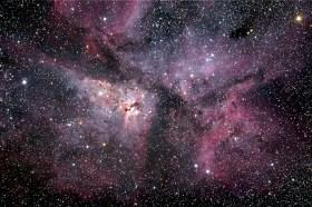 Carina Nebula by Mel Hulbert.