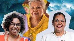 Three First Nations Australian women