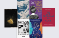 SIx book covers